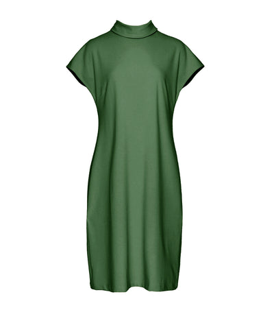 lady rustan aria midi dress olive