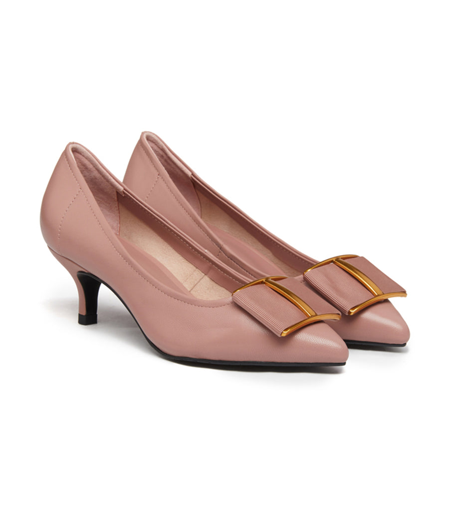 Bow Pumps Taupe