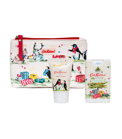 Cath Kidston Festive Party Animals Cosmetic Pouch