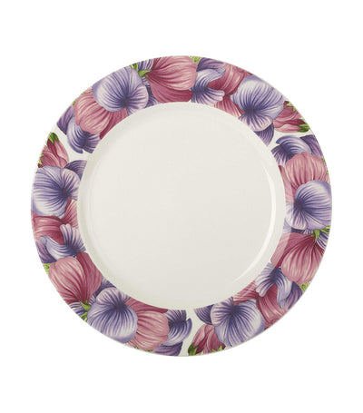"portmeirion botanic blooms sweet pea 8.75"" plate set of 4"