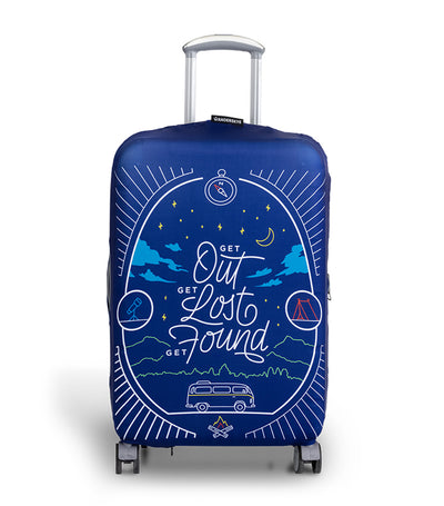 Get Found Luggage Cover Small