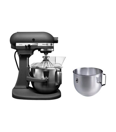 kitchenaid 5QT heavy duty mixer with extra bowl grey