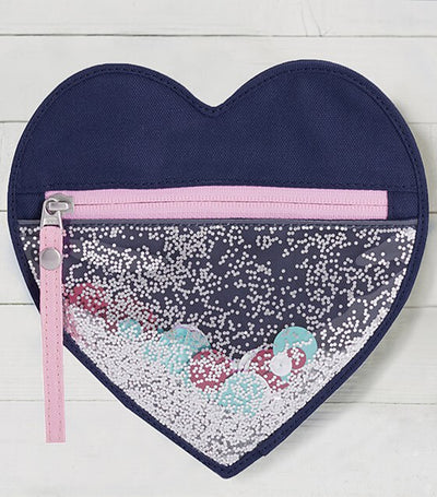pottery barn kids mackenzie heart shaped pouch