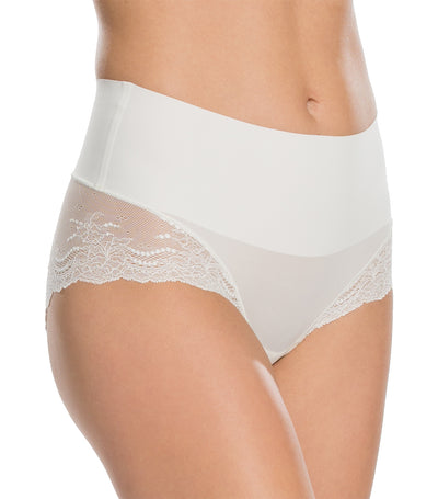 spanx undie-tectable lace hi hipster powder