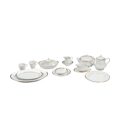 noritake rustan's gold 96-piece dinner set