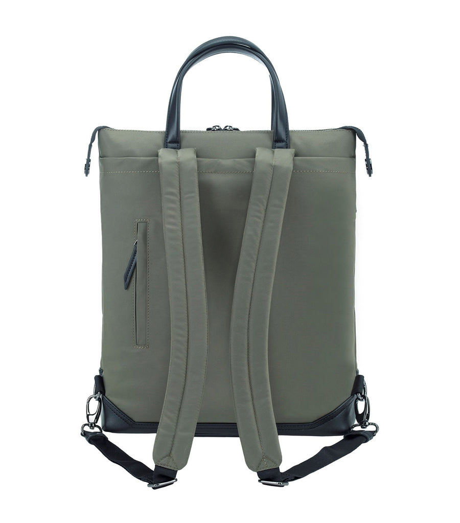 Newport 15in Convertible 2-in-1 Backpack Olive