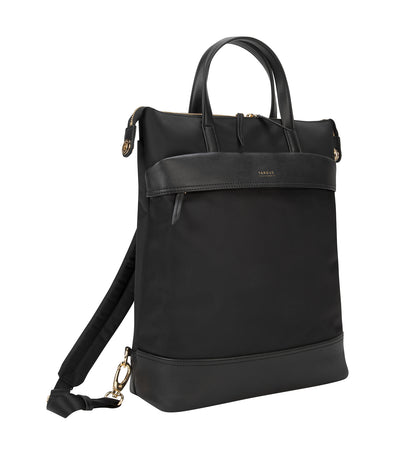 Newport 15in Convertible 2-in-1 Backpack Black