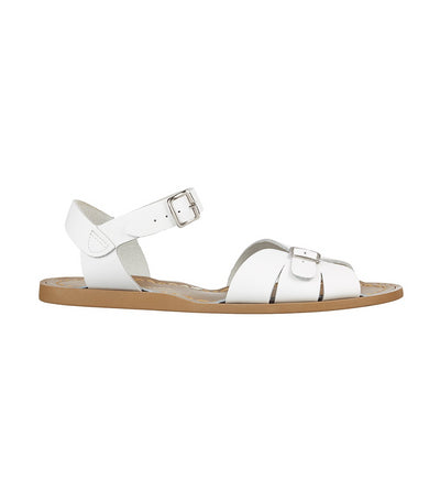 salt-water classic sandals white