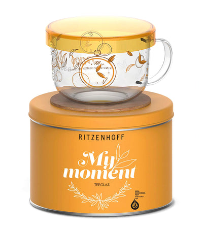 ritzenhoff my moment kurz tea set with coaster