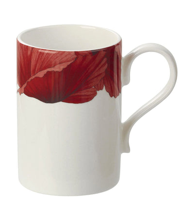portmeirion botanic blooms poppy mug set of 4