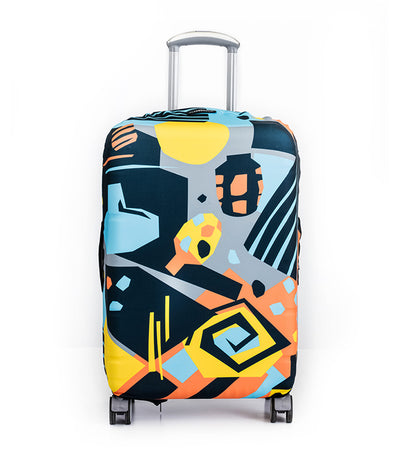 By the Pool Luggage Cover Medium