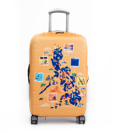 Discover Philippines Luggage Cover Medium