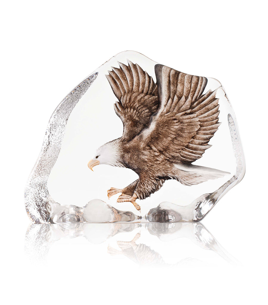 Sea Eagle in Cast Crystal