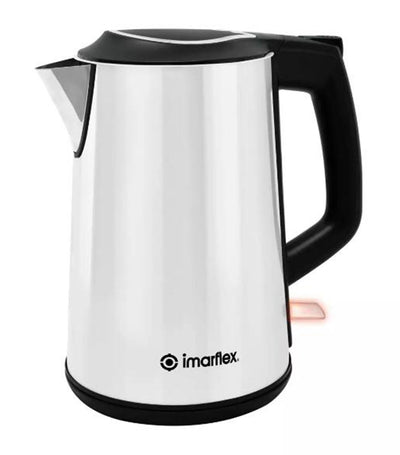 imarflex stainless steel electric kettle 1.5 liters