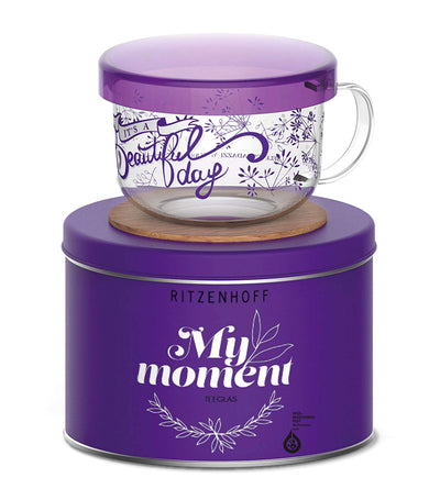ritzenhoff my moment selIi tea set with coaster