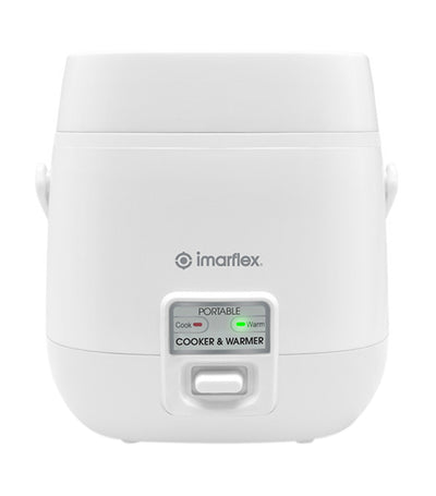 imarflex rice cooker 3 cups white