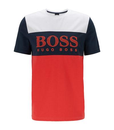 Tee 6 Color-Block T-Shirt Red