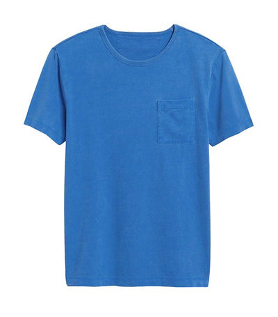 Authentic SUPIMA® Crew-Neck T-Shirt Electric Blue