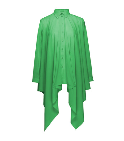 Burmite Button-Down Blouse Green