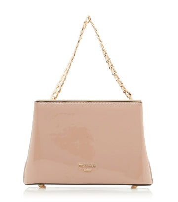 Dileina D Chain Detail Small Day Bag Cappuccino