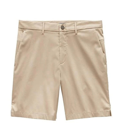 Slim Stretch Cotton Short Natural Stone 9in
