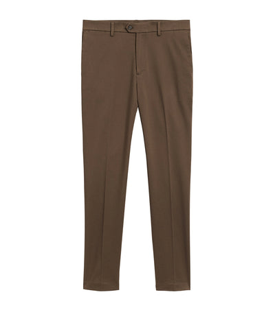 Slim Traveler Chino Norwich Brown