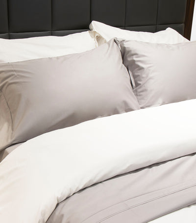 rustan's home goose feather and down pillow standard