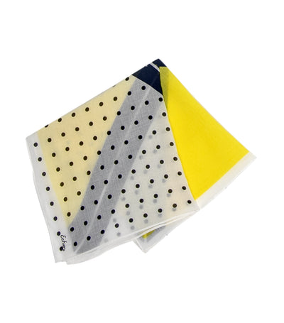 echo diagonal dot bandana resort lemon