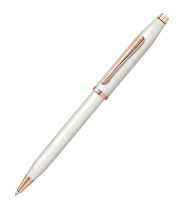 cross century ii pearlescent white ballpoint pen