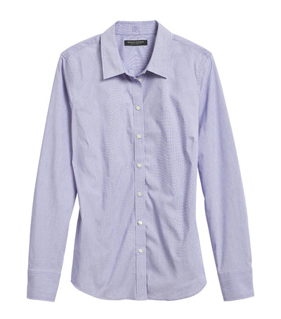 Riley Tailored-Fit Shirt Light Blue