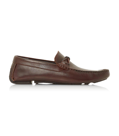 Band Di Round Toe Moccasin Brown