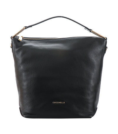 coccinelle liya shoulder bag black