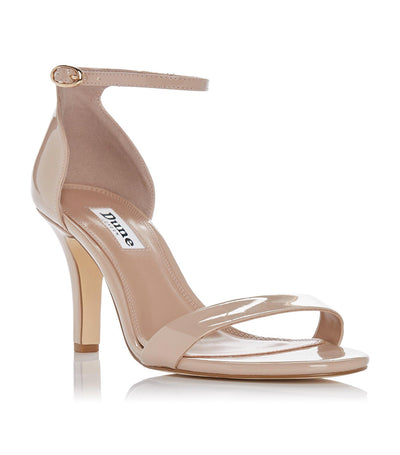 Mydro Leather High Heel Sandal Nude