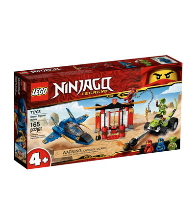 lego ninjago legacy storm fighter battle