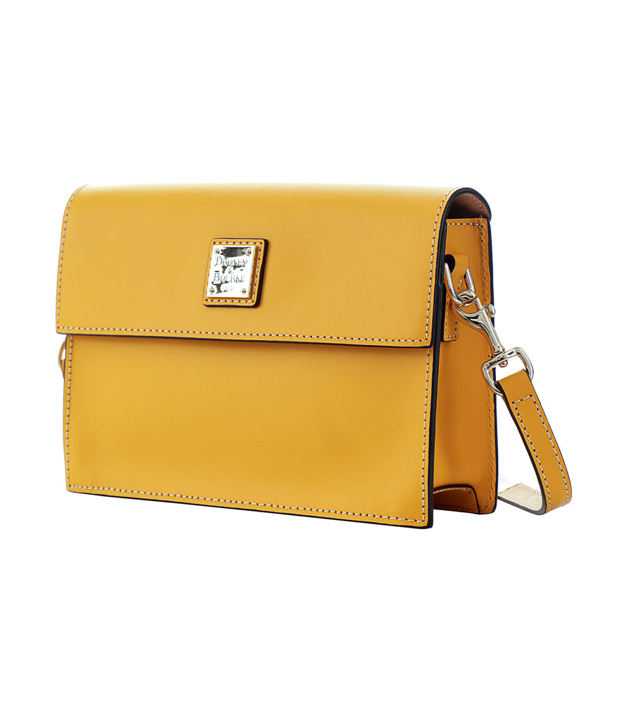 dooney & bourke beacon east west flap crossbody dandelion