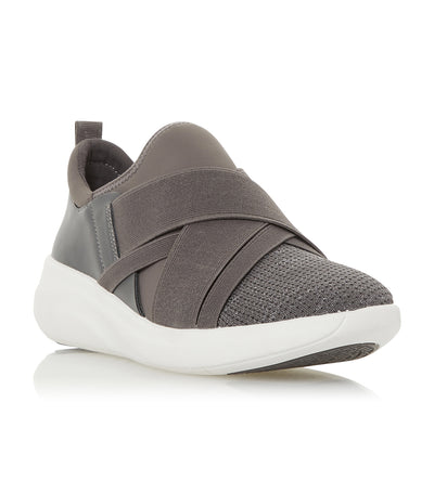 E Elevate Slip-On Trainer Gray