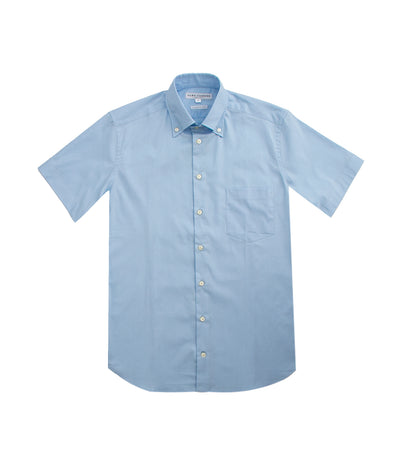 Denver Short-Sleeved Dress Shirt Light Blue