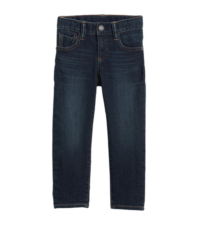 Toddler Slim Jeans with Stretch - Dark Wash Indigo