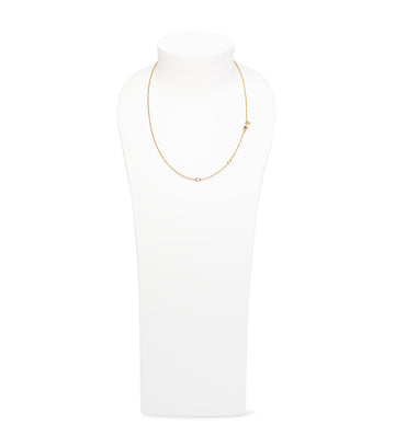 Belcher Chain Necklace 18K Yellow Gold