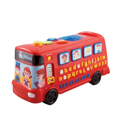 vtech red playtime bus with phonics
