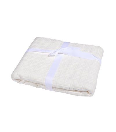 Kassatex Positano Collection Standard Pillow Sham Case - Ivory