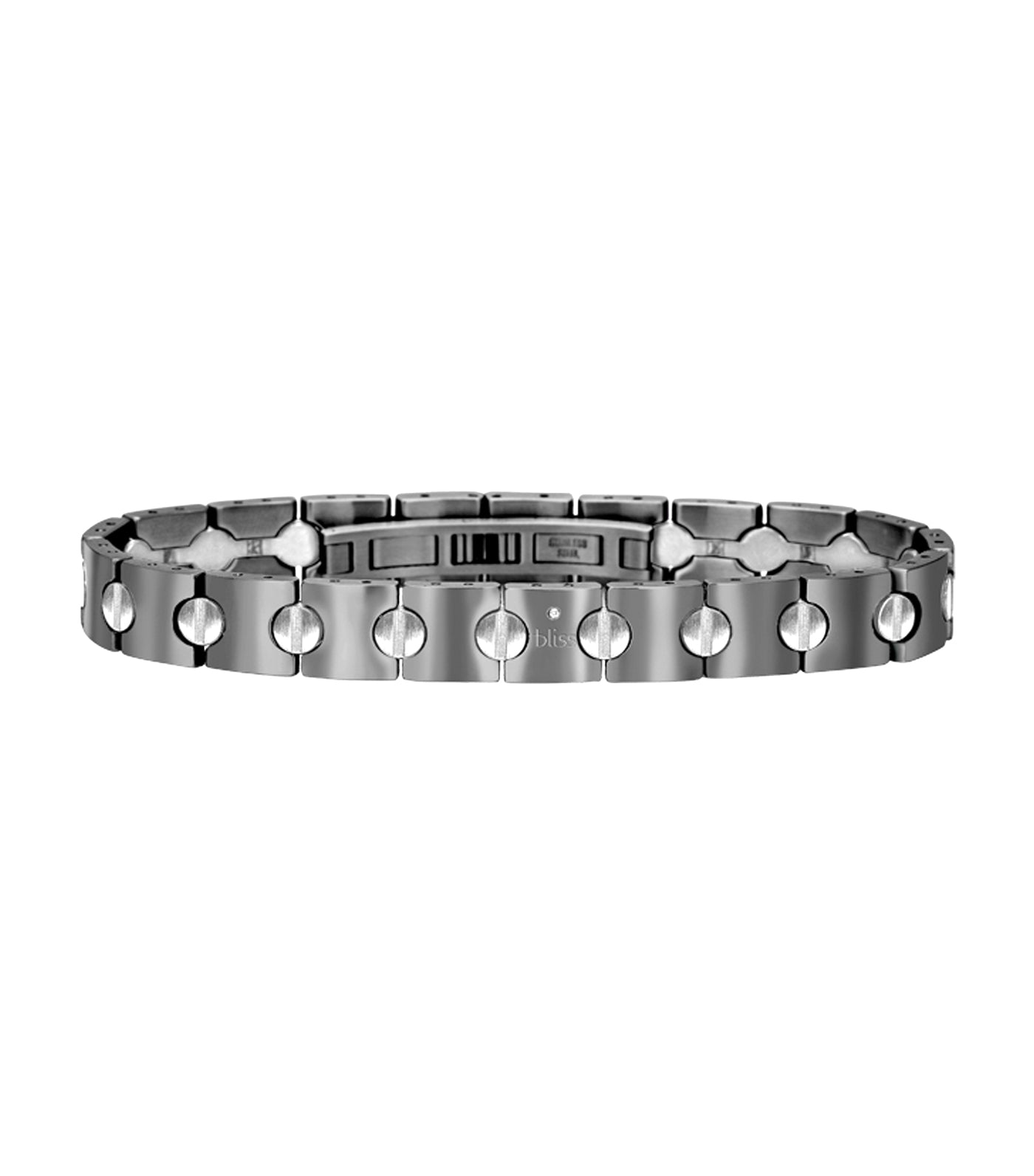 Rider Black Polished PVD Stainless Steel Bracelet