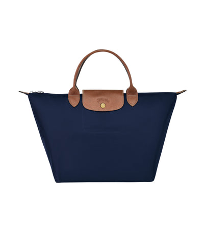 Longchamp Le Pliage Top-Handle M Navy