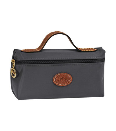 Longchamp Le Pliage Cosmetic Case Gunmetal