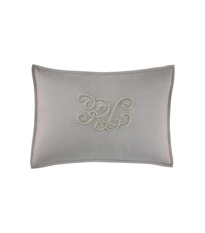 Ralph Lauren Tate Pillow - Flannel Silver