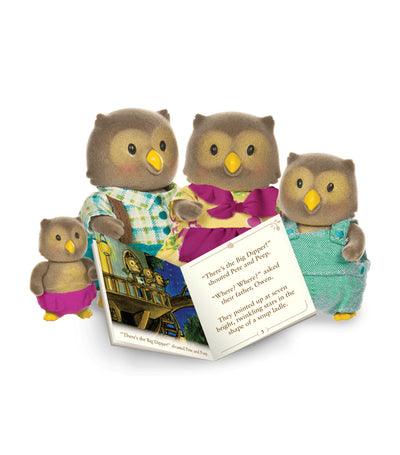 Li'l Woodzeez Owl Family Set