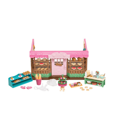 li'l woodzeez tickle-your-taste-buds bakery playset