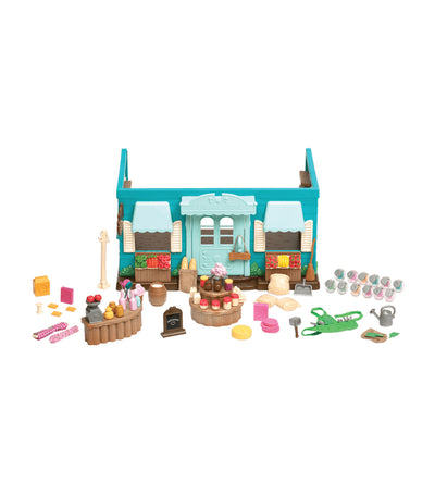 li'l woodzeez honeysuckle hollow general store playset