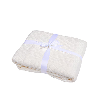 Kassatex Diamante Pillow Sham Case - Ivory