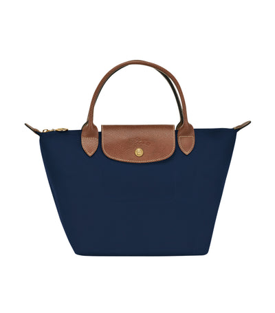 Longchamp Le Pliage Top-Handle S Navy